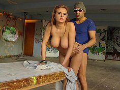 Russian Chick Gets Fucked In Public Place-Official Website www.publicinvasion.com
