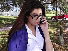 Too Horny College Girl-Official Website www.TeamSkeet.com