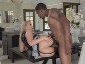 Horny Maid AJ Applegate Loves Black Cock-Official Babes Network