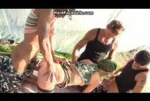 Army chick banged hard-Official Hard Fuck Tales