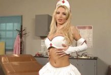 Busty blonde nurse makes a lucky guy cum hard-Official Website Dagfs.com