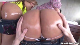 Two Huge Asses From Colombia get Fucked