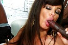 A crowd of black guys meet Milf Lisa Ann and drill her-Official Website Wicked