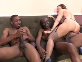 Janet Mason loves playing with rude black guys-Official Website BlacksonBlondes.com