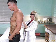 An aspiring doctor and her first patient-Official Website Brazzers