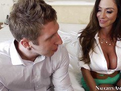 Busty latina milf wants her son's best friend-Official Website Naughty America