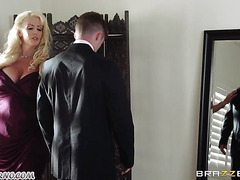 Groom fucks his fat mother in law before the wedding-OW Brazzers