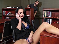 Her Student Walks In And Catches Her In The Act-OW Naughty America