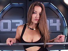 Amazing Babe Dani Daniels And The Machine-OW Fucking Machines