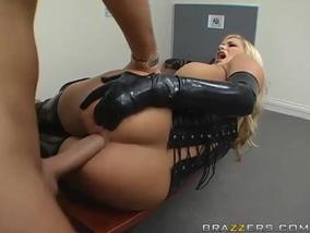 Latex doll needs hardcore sex-OW Brazzers