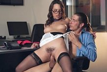 Office Man Mr Johnson Fucked Jade Nile s Very Hard