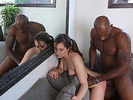Sexy White Bodey Teen Kasey Gived Black Cock