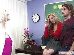 Sexy Teacher Julia Ann On Sex Education