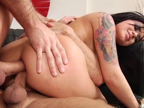 James Deen And Mr Pete Anal Banged To Eva Angelina