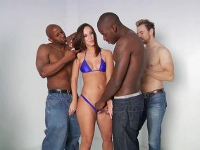 Jada Stevens Solo With Horny Boys