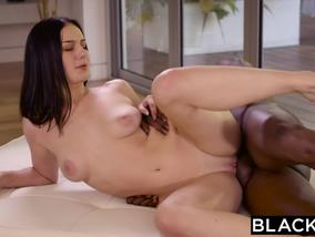 Busty Brunette Amanda Lane Gets Fucked By Black Dick