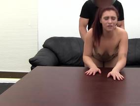 Anal Pounding Amateur Girl Danielle After Casting