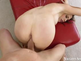 Busty Babe Chanel Preston Loves Doggy Position