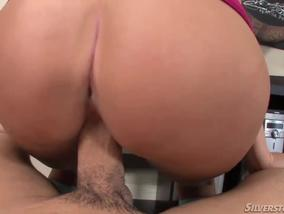 Blonde Babe Molly Rae Sucks A Black Cock