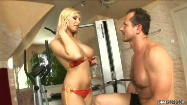Hard Anal Action By Blonde Big Tited Babe Donna Bell