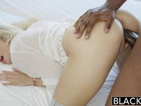 Blacked Present Interracial Porn Wih Addison Belgium