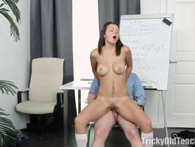 Old Teacher Gets Fuck Horny Russian Student Nataly