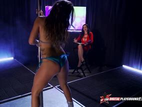 Karmen Karma Strip Dance And Masturbation
