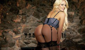 Softcore And Striptease By Blonde Nicolette Shea