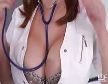 Hotty Asian Doctor With Big Boobs