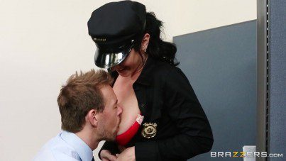 Sexy Officer Jayden James Gets Arest A Cock