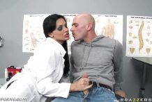 Slutty Doctor Aletta Ocean Gets Help Johnny Sins