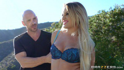 Officer Johnny Sins Gets Arest Sexy Blonde Kissa Sins