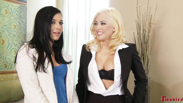 Ashli Orion And Kagney Linn Karter Gets Share Dick