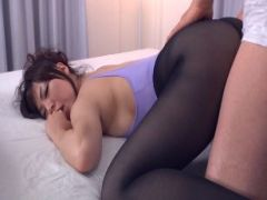 Nylon Solo And Pounding By Asian Babe