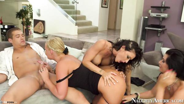 Gangbang With Phoenix Marie And Her Mature Friends