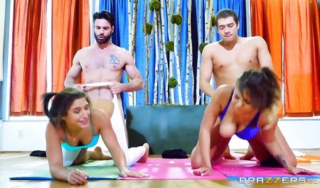 2587 Abella Danger Presents 2 Part Joga Porn With Her Friend