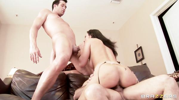 Dirty Man Loves Him Frineds Brunette Wife