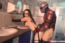 2906 Brunette Nekane Presents Marvel Porn Parody