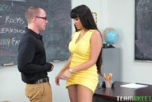 2987 Big Tited Mercedes Carrera Not A Teacher She Is Horny Pornstar