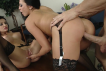 2995 Work And Porn Time Johnny Gets Fuck Aletta Ocean And Audrey Bitoni