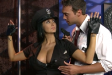 2885 Sexy Cop Ava Addams Gets Fuck In The Strip Club