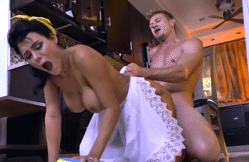 2935 Hard Porn And Cumshot By Hot Maid Peta Jensen