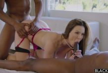 3031 Interracial Action Two Black Cock Gets Drilled Kendra Lust