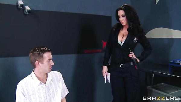 3071 Airport Sexy Officer Jayden Jaymes Gets Arest Danny D For Big Cock
