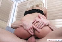 3017 Blonde Secretary Kylie Page Makes Office Sex With Natural Tits