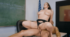 3033 Slutty Teacher Angela White Loves Sex In Brazzers Office