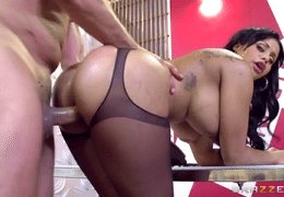 3104 Big Ass And Latina Babe Mary Jean Gets Fuck By Office Cleaner