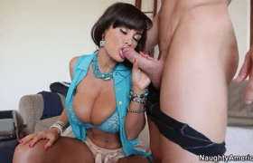 31 Brunette Mom Lisa Ann Makes Sex Like A Crazy With Big Boobs