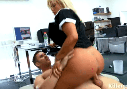 3076 Office MILF Aaliyah Ca Pelle Masturbated At Work