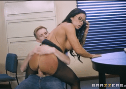 3152 Office Lady Simone Garza On Office Cock